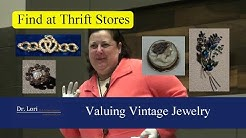 Valuing Antique and Vintage Jewelry - Find Bargains by Dr. Lori