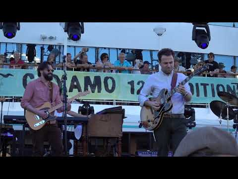 """Dawes + Lenny Goldsmith: """"When Something Is Wrong With My Baby"""" (Cayamo cruise, Feb 2019) (MAH09558)"""