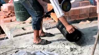 Как порезать Базальтовую сетку(Базальтовая сетка кладочная, как порезать на две ровные части., 2014-01-13T11:27:09.000Z)