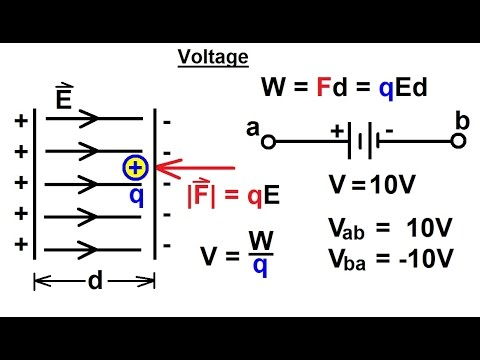 Electrical Engineering: Basic Concepts (5 of 7) Voltage