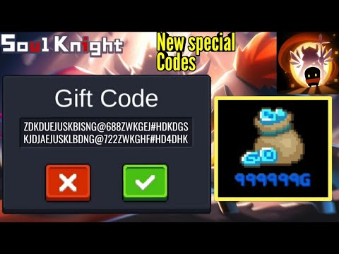 Soul Knight | New Special Secret Codes | Update 2.2.6 | Free Coins | 999999 Coins | Android Gaming