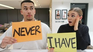 NEVER HAVE I EVER CHALLENGE WITH GIRLFRIEND *AWKWARD*