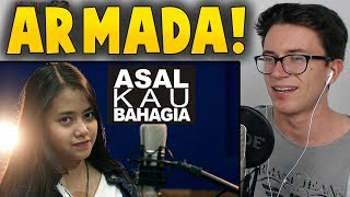 Asal Kau Bahagia - Armada (Cover) by Hanin Dhiya Reaction