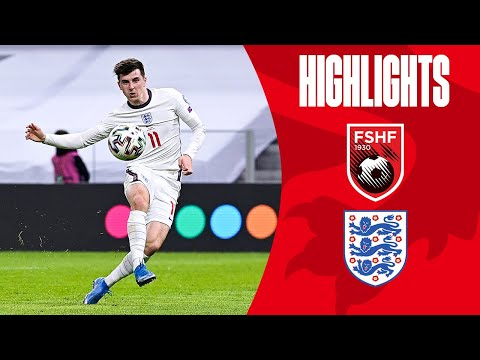 Albania England Goals And Highlights