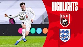 Albania 0-2 England | Mount & Kane On Target in Albania | World Cup 2022 Qualifiers | Highlights