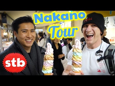 Nakano Broadway Ice Cream Tour in Tokyo, Japan // XTREME Ice Cream Challenge