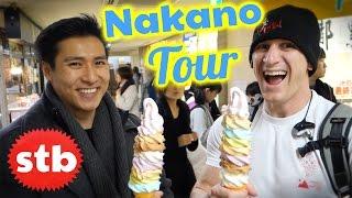 Nakano Broadway Ice Cream Tour in Tokyo, Japan // SoloTravelBlog