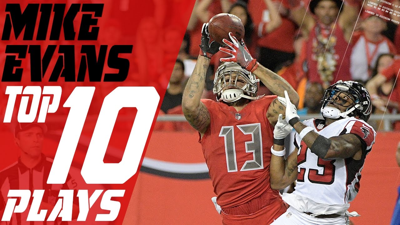 new style 5217a c343c Mike Evans Top 10 Plays of the 2016 Season | Tampa Bay Buccaneers | NFL  Highlights