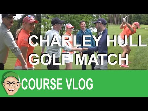 Charley Hull Takes on Mark Crossfield and Friends