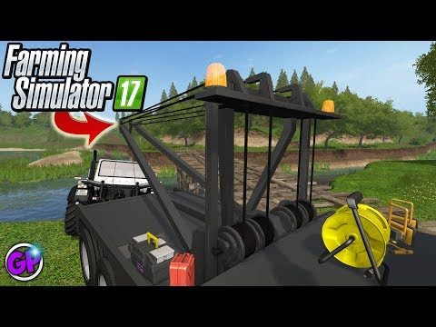 TOWING FARMING SIMULATOR 17 TOW TRUCK MOD FARMING SIMULATOR 2017 GARRETT PLAYS FS17 TOWING thumbnail
