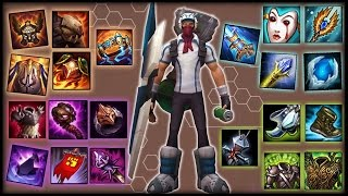 SINGED ITEMS & BUILD ULTIMATE GUIDE SEASON 7 - Fully Detailed Analysis + Explanations