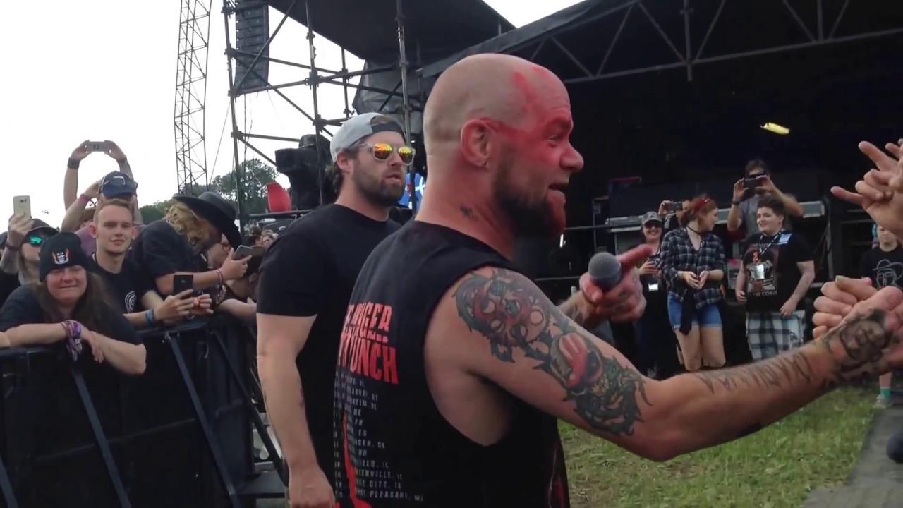 Five Finger Punch Download Festival 2017