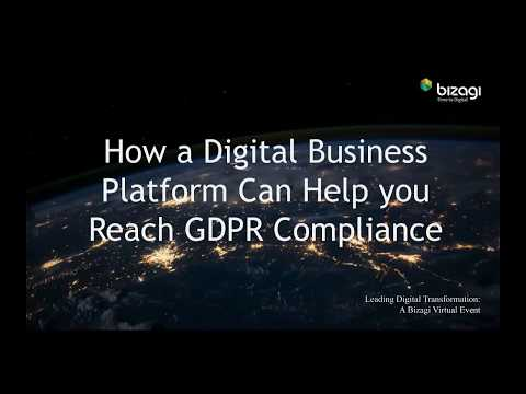 Virtual Summit: How a Digital Business Platform Can Help You Reach GDPR Compliance