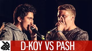 DKOY vs PASH | WBC Solo Battle | 1/4 Final
