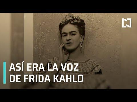 Voz de Frida Kahlo, hallazgo sorprendente de la Fonoteca Nacional - Las Noticias