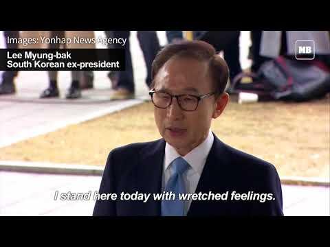 South Korean ex-president Lee Myung-bak home after marathon interrogation