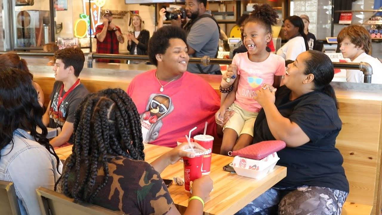 Kidd's Kids Reveal at Raising Cane's | The Kidd Kraddick