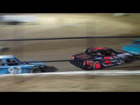 Eco Stock feature @ Grayson County Speedway 8-25-18
