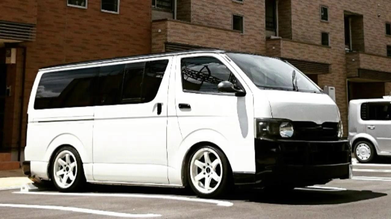 Customized Toyota Hiace Vans >> HIACE Super Custom Limited - YouTube