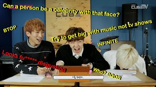 BTOB reacting to bad comments