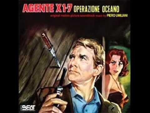 Agente X17 Operazione Oceano Seq 1 Titoli - Piero Umiliani