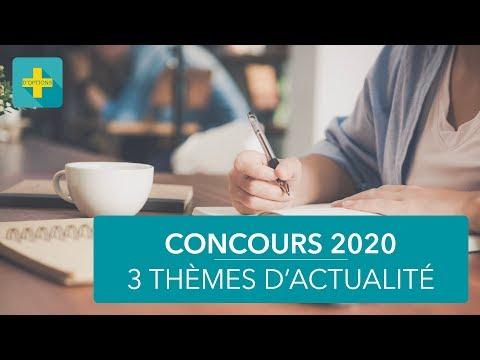 3 sujets à maîtriser pour les concours 2020