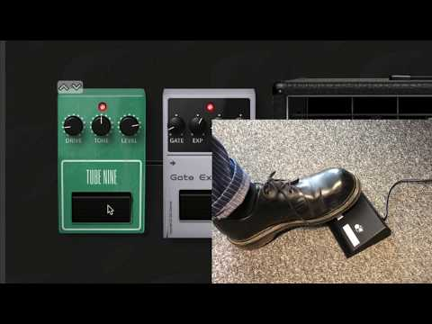 Control your computer-based effects with a footswitch or expression pedal