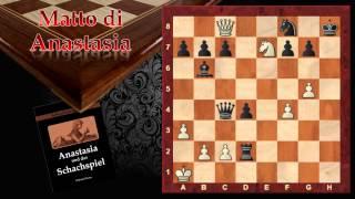 Catalogo dello Scaccomatto - Matto di Anastasia 02 - Scacchi