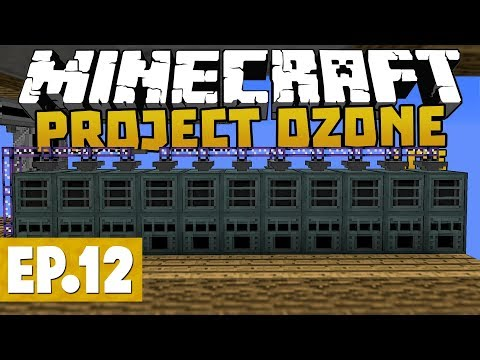 Project Ozone Lite - Grid Power & Ore Processing Upgrade! #12 [Modded Questing Skyblock]