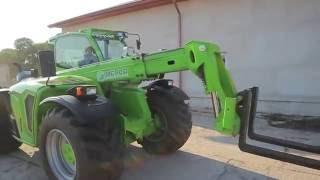 Merlo Multifarmer MF40.7 CS, prezentacja, ładowarka, agri, maszyny rolnicze, nie MANITOU JCB