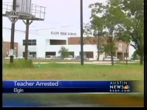 Elgin High School teacher arrested