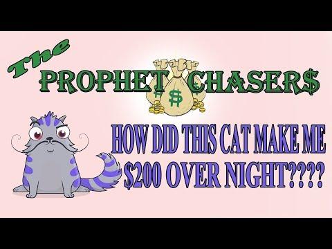 CRYPTOKITTIES!!!! How i made $200 over night