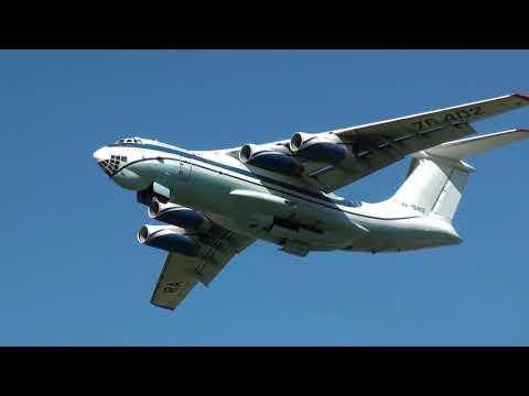 ILYUSHIN IL-76 /78 TAKE OFF & LANDING
