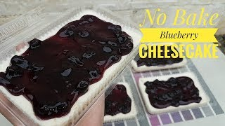 No Bake Blueberry Cheesecake | How to make Blueberry Cheesecake (with costing)