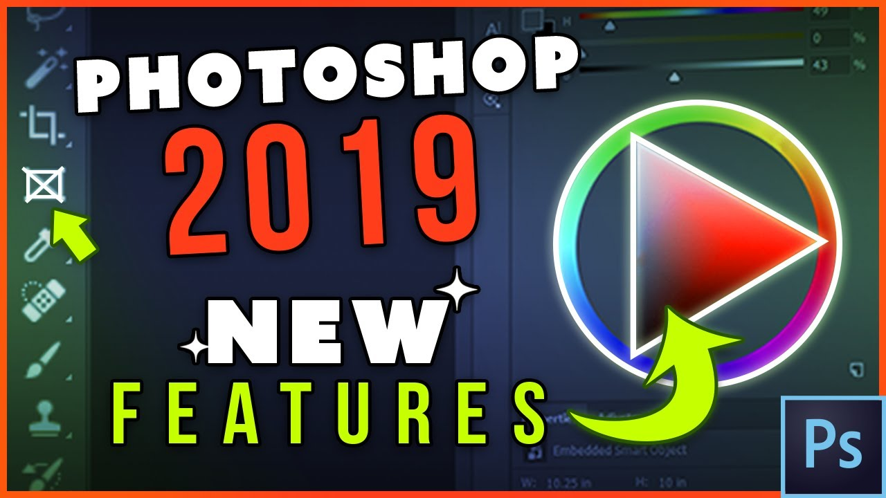Photoshop CC 2019 NEW FEATURES (Tutorial)