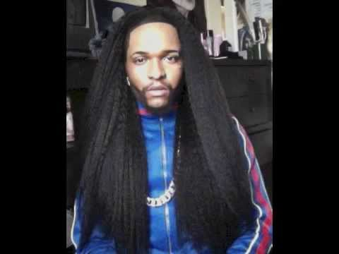 Men with long hair black youtube pmusecretfo Choice Image