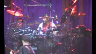 carter goes nuts on the drums on two step outro