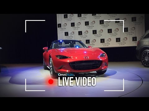 Mazda MX-5 è World Car of the Year | Salone di New York 2016
