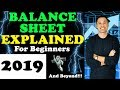 Balance Sheet Explained for Beginners in 2019 - (Free Stock Market Education)