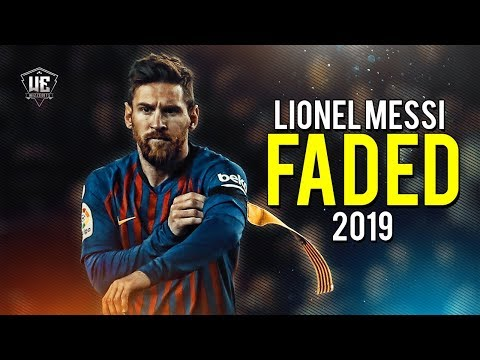 Lionel Messi - Faded ● Dribbling Skills & Goals 2019 (HD)