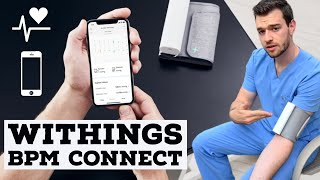 2019 Withings BPM Connect Review - The BEST & EASIEST Smartphone Blood Pressure Cuff for Patients!!