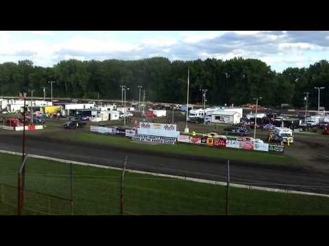 Hamilton County Speedway 7-8-17 Stock Car Heat 1