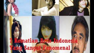7 Kematian Artis Indonesia Yang Sangat Fenomenal