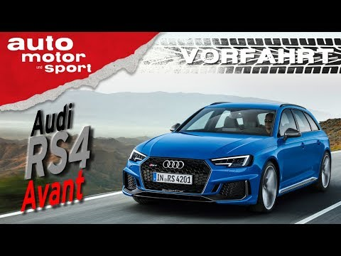 Audi RS4 Avant (2018): Ein echter Verwandlungskünstler - Vorfahrt (Review) I auto motor und sport