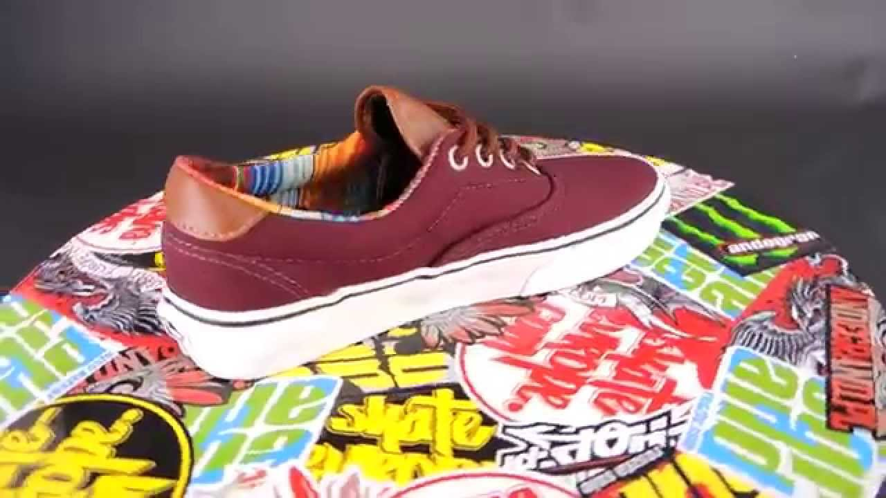 30393155abc VANS Era 59  (C   L) PORT ROYALE  MULTI STRIPE  - YouTube