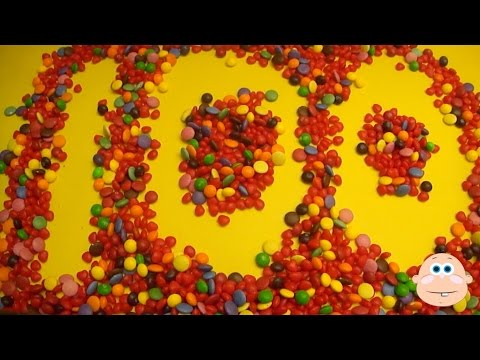 learn numbers 1-100 - learn to count 1-100 with Candy Numbers!
