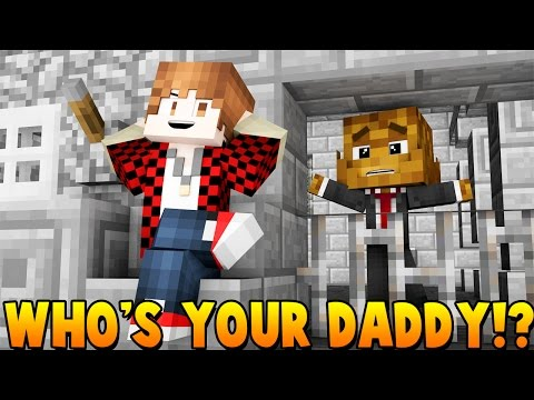 BABY ESCAPES FROM PRISON Minecraft | WHO'S YOUR DADDY?  - Modded Mini-Game