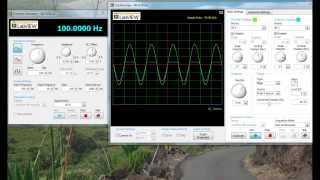 MyDaq Tutorial: Connecting Circuitry and using the Oscilloscope and Function Generator