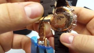 take a look at the emporio armani ar5890 watch chronos watches unboxing video