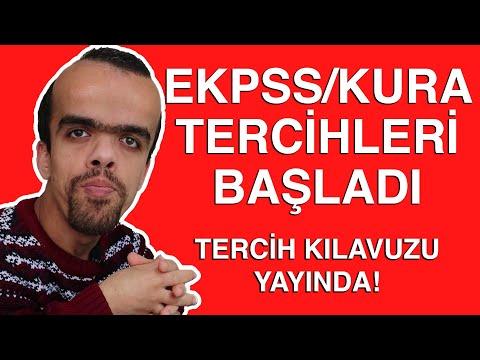 EKPSS/Kura Tercihleri Başladı   TERCİH KILAVUZU YAYINDA!